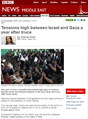 Knell Gaza parades
