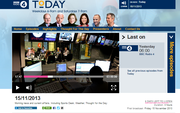 BBC R4's 'Today' programme implies persecution of Christians in Israel