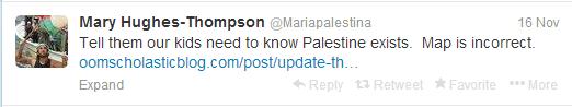 tweet mary hughes free gaza