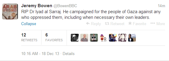 Bowen tweet not helpful to the BBC's reputation for impartiality