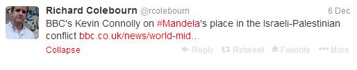 Colebourn Connolly artic tweet