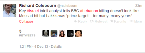 Colebourn Lakis tweet