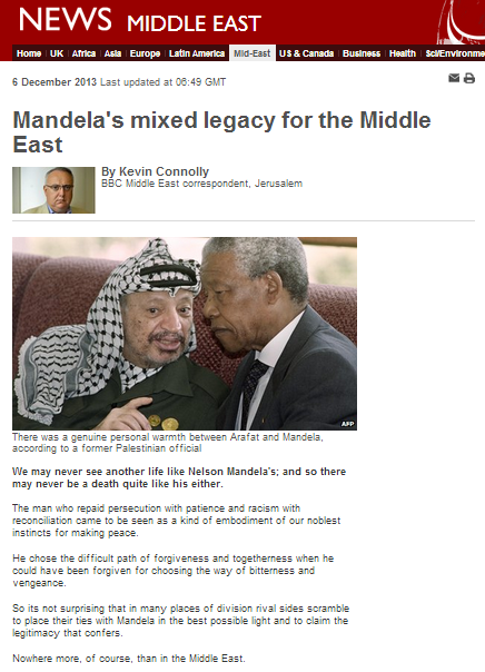 BBC's Connolly exploits Mandela's death for political campaigning