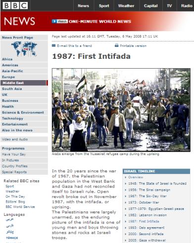 First Intifada 1