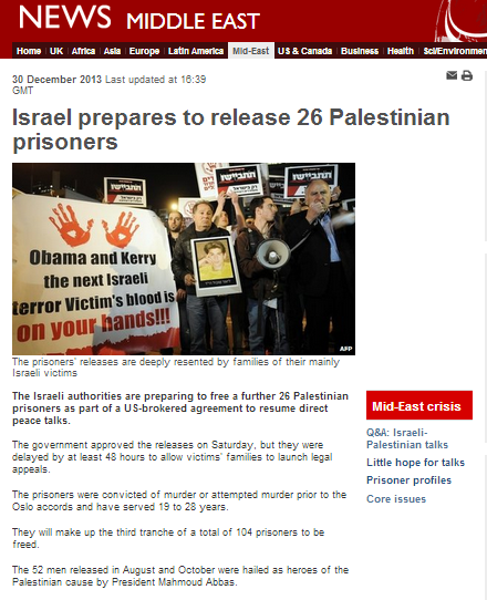 Template BBC report on prisoner release