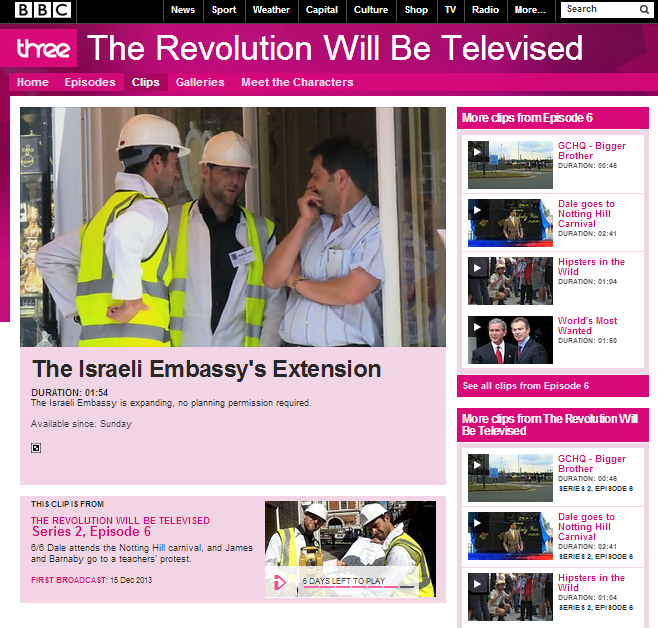 Israeli media pick up on BBC 3's crude national stereotyping