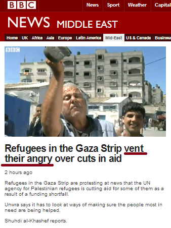 Another dumbed-down BBC report from the Gaza Strip