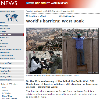 World's barriers