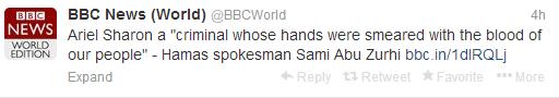 BBC News world Sharon tweets 2