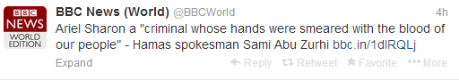 BBC News world Sharon tweets 2