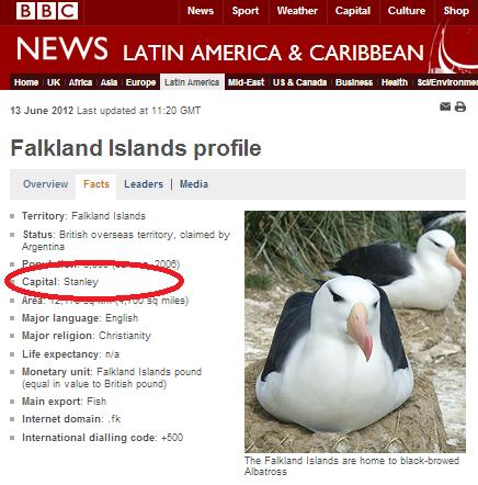 Falkland Is profile
