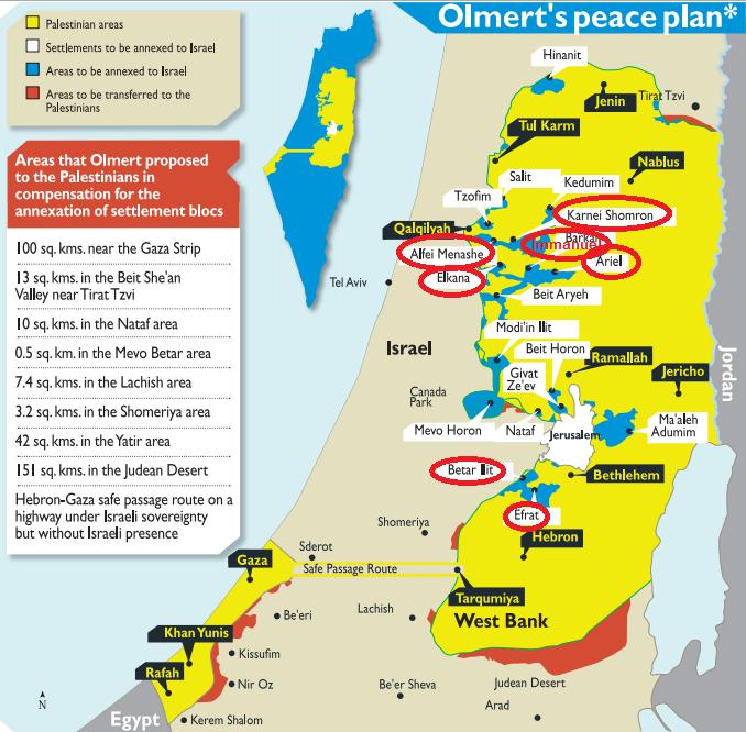 Olmert proposal
