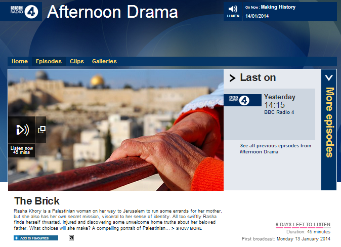 BBC Radio 4 reinforces political narrative through drama