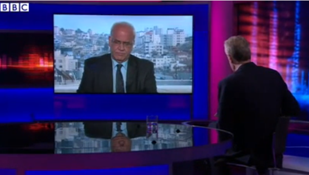 BBC's Hardtalk provides platform for Saeb Erekat's fabricated histories – part two