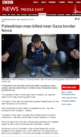 incident Gaza fence 13 2 art