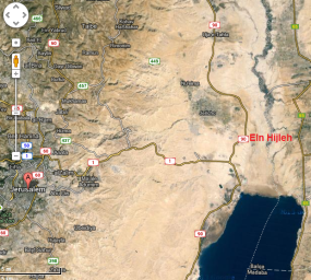 map ein hijleh