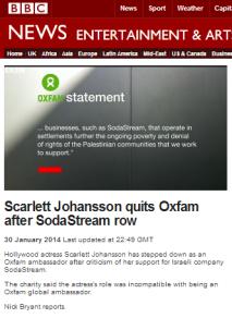Oxfam filmed
