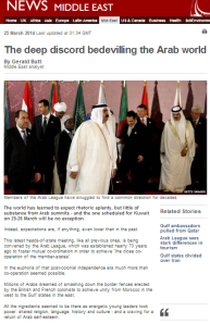 Butt article Arab League