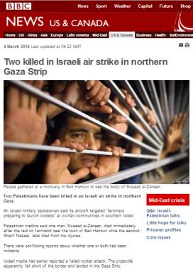 Gaza strike mon