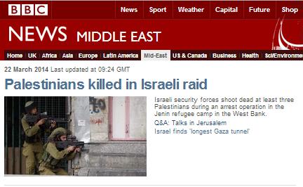 BBC downplays Palestinian terrorism in Jenin incident report
