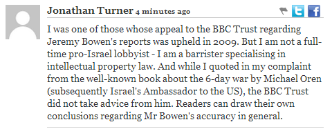 Jonathan Turner comment Independant