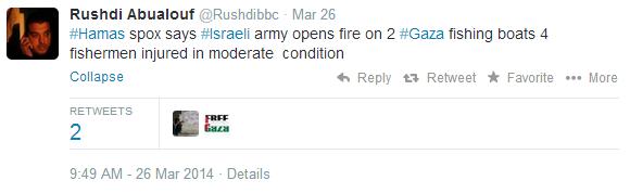 "BBC's Abualouf promotes Hamas ""fishermen"" PR line"