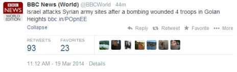 tweet bbc world response