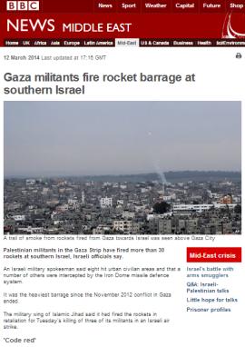 Weds missile attacks