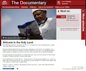Africans in the Holy Land WS