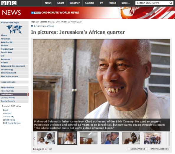 BBC African quarter 2010