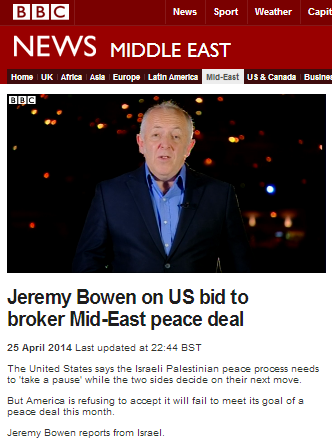 BBC's Bowen promotes BDS and apartheid analogy on main TV news programme