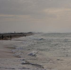 Gaza from Zikkim beach