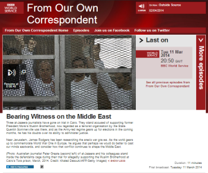 BBC's 'From Our Own Correspondent' does fashionable post-colonial guilt