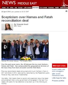 Hamas Fatah deal Knell art main