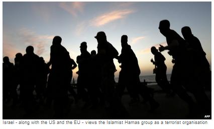 Hamas Fatah deal knell art photo