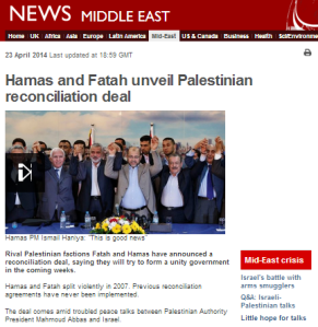 Superficial BBC reporting on Hamas-Fatah reconciliation deal sells audiences short