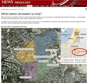 BBC News redesigns Jerusalem's Old City