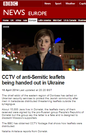 BBC's Natalia Antelava shows how antisemitism can be reported accurately and impartially