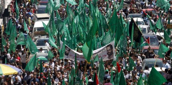 BBC ignores Hamas show of force in Ramallah