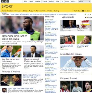 BBC Sport 20 5