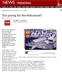 BBC Trending Holocaust educ art