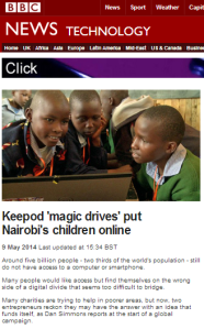 What is missing from these two BBC Technology reports?