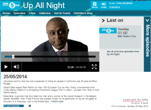 BBC Radio 5 Live provides platform for Catholic anti-Israel campaigning