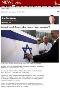 Donnison Israel Australia
