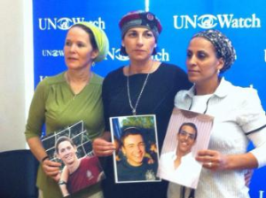 The mothers of Naftali, Gil-ad and Eyal, Geneva, June 24th
