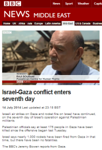 BBC quoted and promoted NGO supports cash for terror
