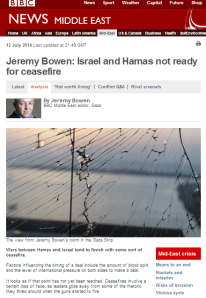 How the BBC's ME editor prevents audiences from understanding the background to the Gaza conflict