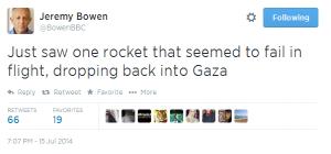Bowen tweet shortfall 2