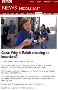 Crossings Rafah Doucet