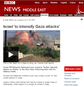 BBC News website report downplays Hamas' nuclear terrorism